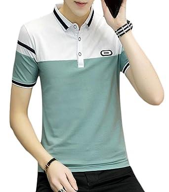 GRMO - Polo de Golf para Hombre, Manga Corta, Ajuste Entallado, de ...