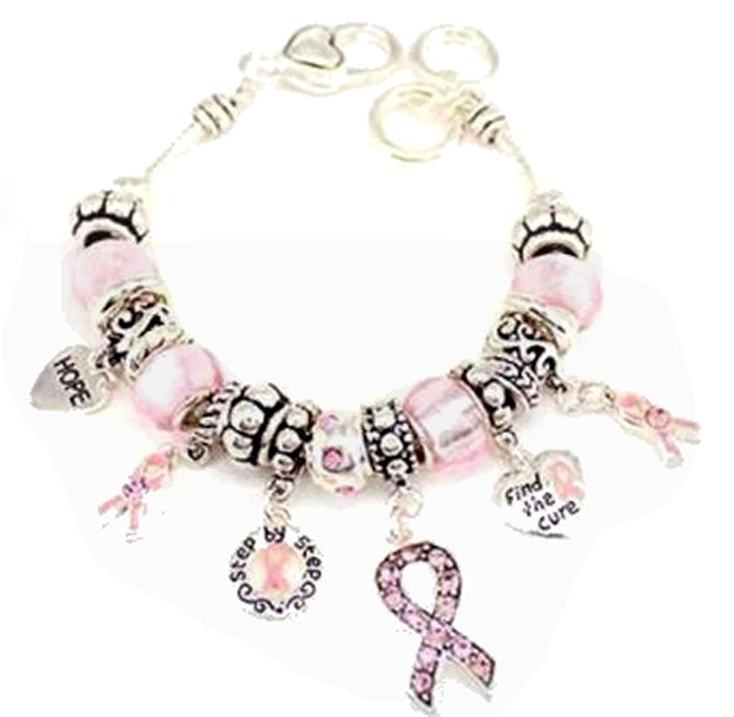 Pandora Breast Cancer Bracelet