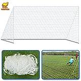 Net for Portable Football Soccer door 12' x 6' Soccer Net Nelon Net Sport Training