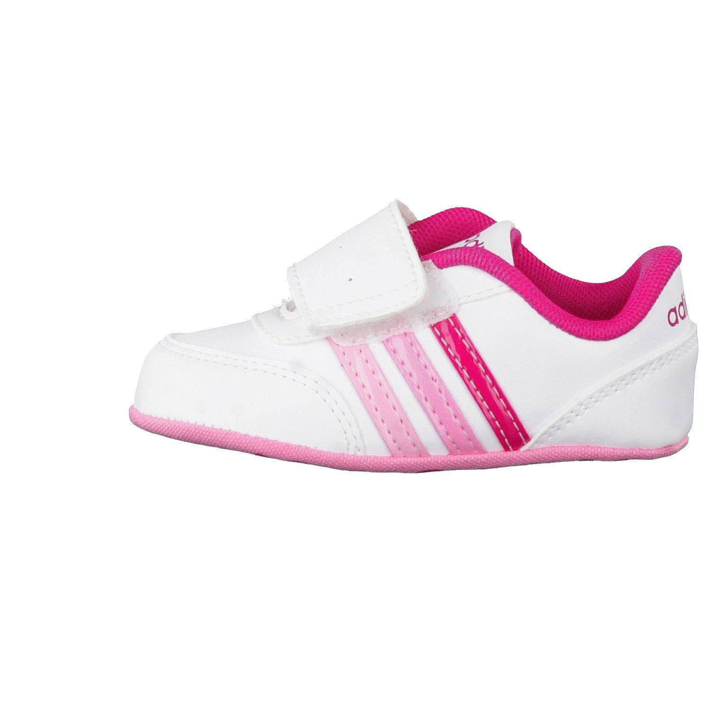 Adidas Crèche Jogging V - Enfants Deportivaspara Chaussures, Blanc - (ftwbla / Rosfue / Rossen), 18