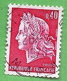 Used France Postage Stamp %281969%29 40c