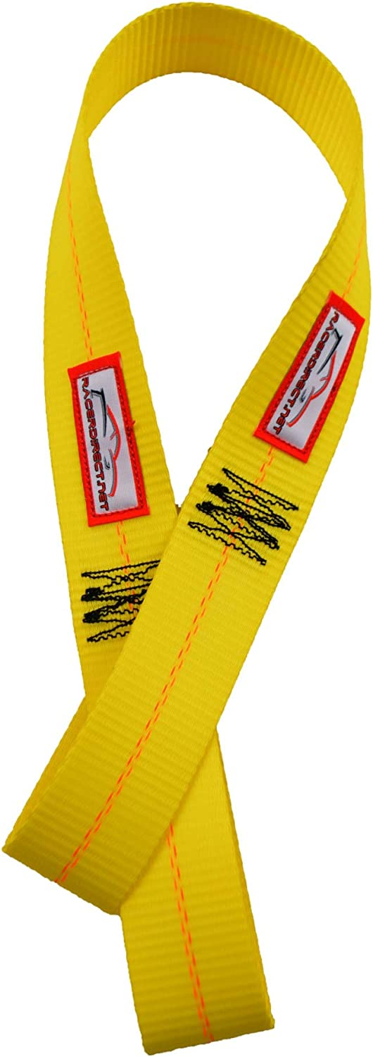 RACERDIRECT Vehicle AXLE Straps 8,900 Working Load Strength 36 Long Pair