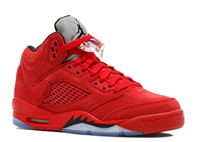 best deals on 39491 3c6a3 Nike AIR Jordan 5 Retro BG (GS)  RED Suede  - 440888-