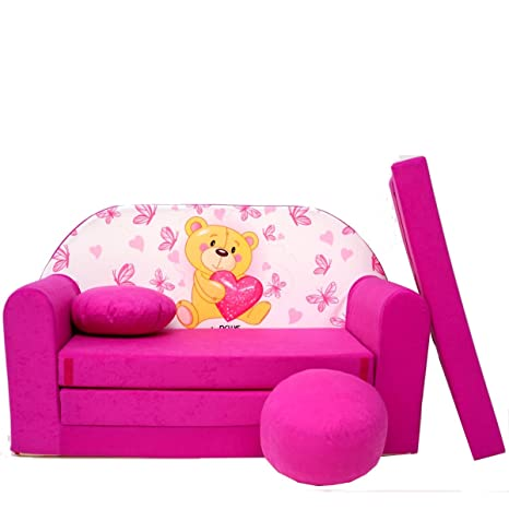 h3-a para niños y bebés Mini sofá almohada sofá cama puf ...