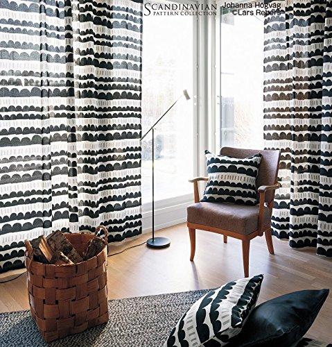 サンゲツ 手描きのような柔らかい線の大人ポップなカラーデザイン カーテン2倍ヒダ SC3286 幅:250cm ×丈:240cm (2枚組)オーダーカーテン   B07848G665