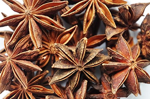 (1 LB ) 100%ALL Natural- Organic Sun Dried Star Anise ,Star Aniseed by PowerNutri Shop (Image #1)