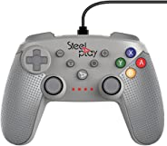 Controle com fio Classic Grey/switch - Nintendo Switch