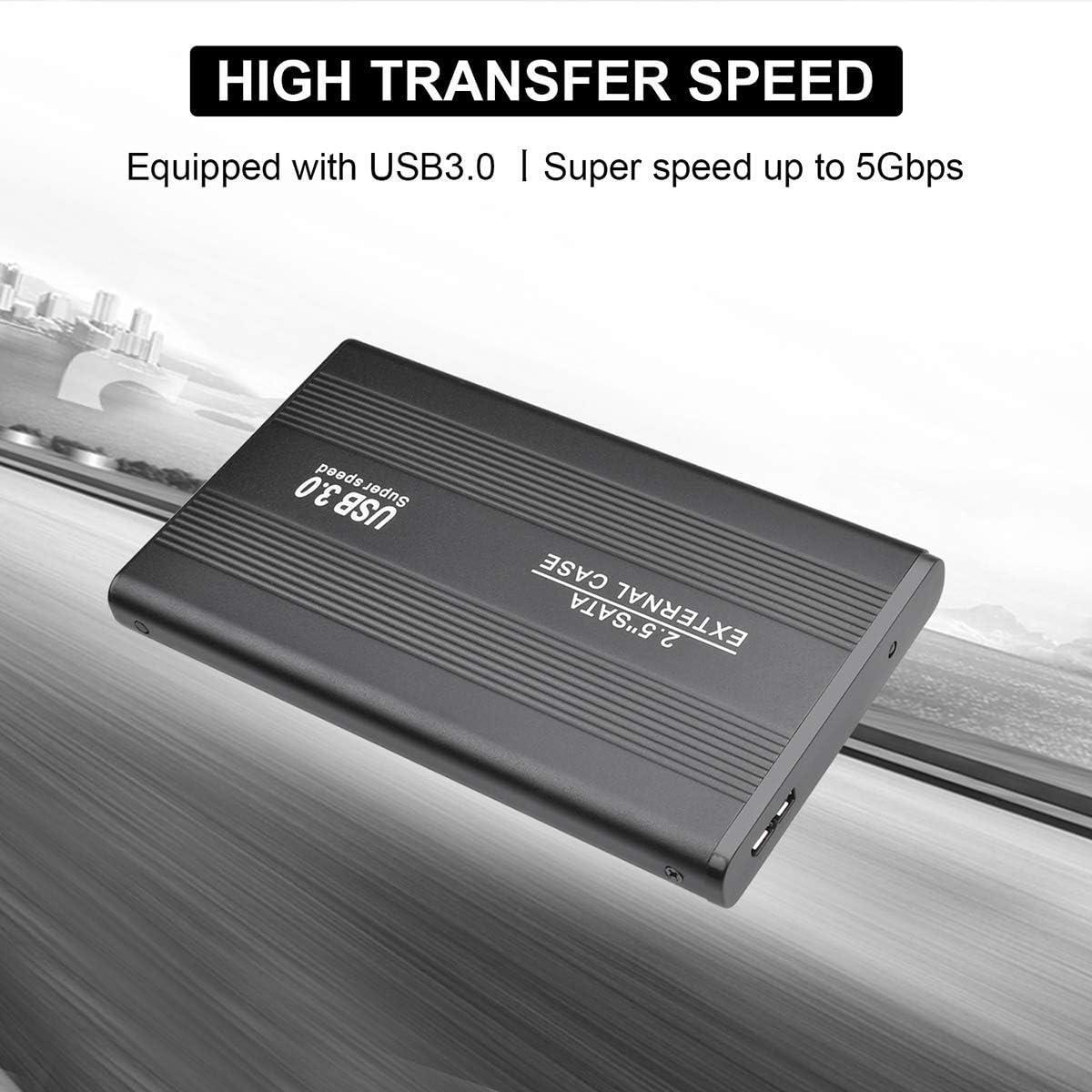 ASUME 2TB External Hard Drive USB 3.0 Hard Drive 2.5