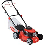 "Austin TURBO VAC MiniMower 16"" 3HP 98cc Self Propelled 4 Stroke Petrol Recoil Start Lawn Mower with 45 Litre Grass Collection Bag, Drive Speed Control, Single Lever Height Adjustment & Turbo Vac Suction System - 2 Years Warranty"