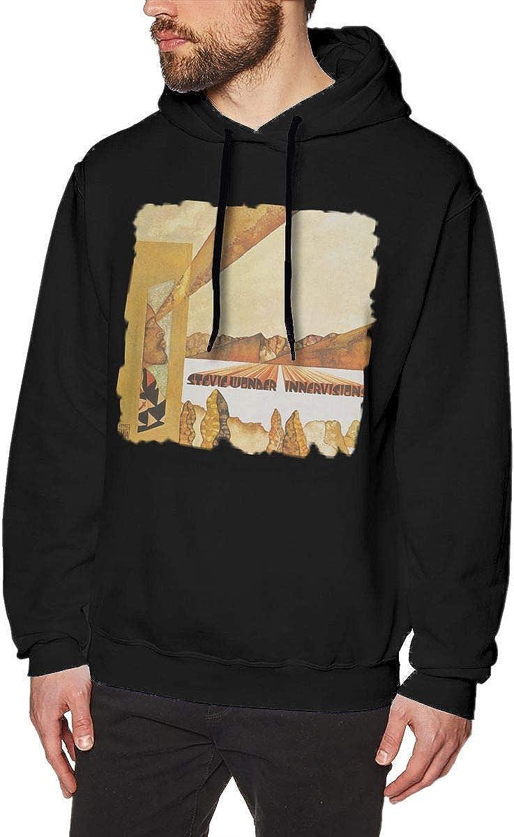 Stevie Wonder Innervisions Mens Classic Jacket Hoodie Sweatshirt Black