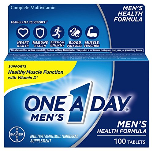 1 N/a Replacement Natural (One A Day Men's Health Formula Multivitamin, 100 Count)