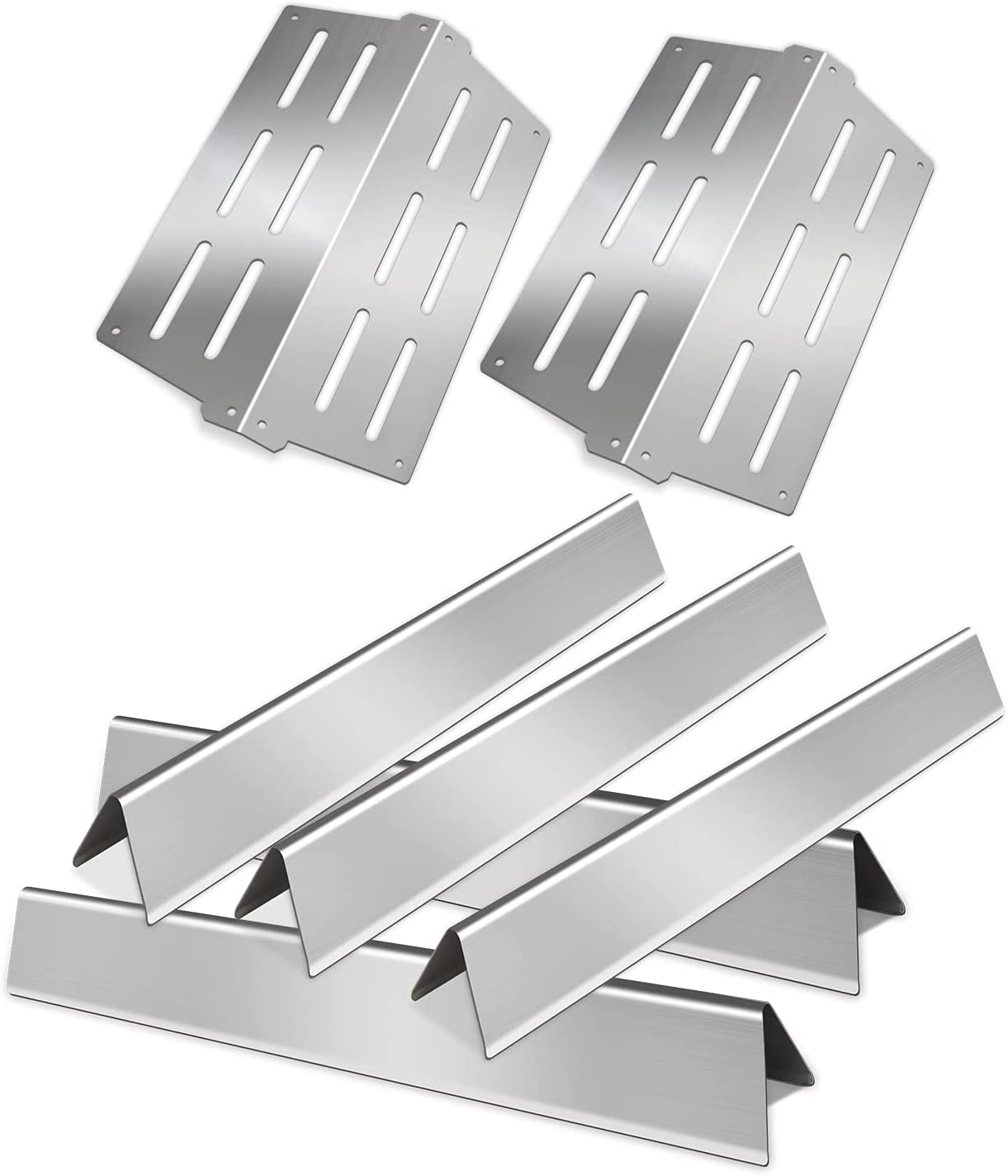 Zemibi Grill Repair Replacement Parts for Weber Genesis 300 Series Grills E310 E320 E330 S310 S320 S330, BBQ 13 1/4