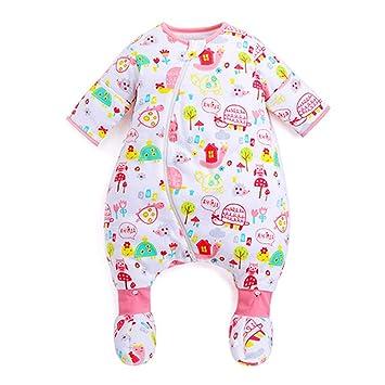NOMSOCR Saco de Dormir súper Suave, Saco de Dormir para bebé, Saco de Dormir cálido para bebés recién Nacidos y bebés: Amazon.es: Hogar