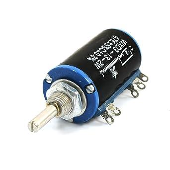47K ohmios 2W 5 Soldadura Multi Turn hilo enrollado potenciómetro rotatorio WXD3-13