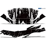Wholesale Decals Club Car Precedent i2 Full Graphics Kit Bold Shredded Design