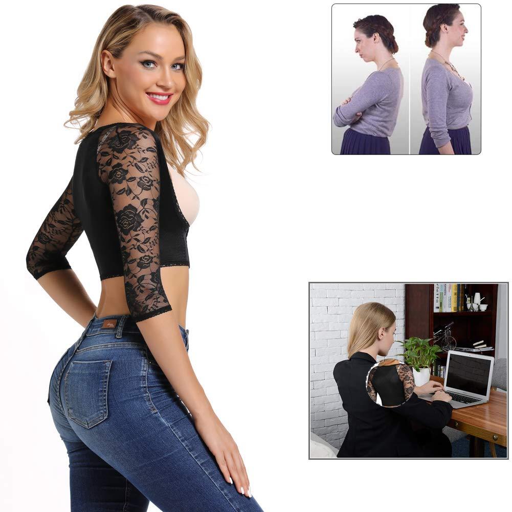 Joyshaper Damen Figurformende Oberarme Shapewear K/örper Kompression K/örperhaltung Korrektor Shaping-Effekt Top