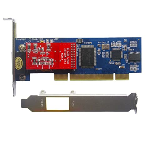 Amazon.com : 1 Port FXO Card x100p, Low Profile, Supports ...