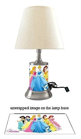 Disney Princess Lamp With Shade 6 Amazon Com