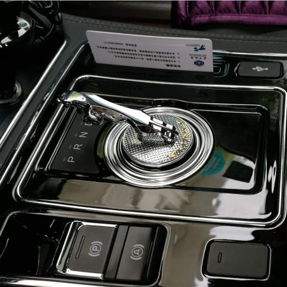 LAUTO Gang Schalthebel Griff Dekorativer Stereo Schutzaufkleber Geeignet f/ür Jaguar XJL//XE//XF//XFL//XJ//F-PACE.Einfache Installation,Originale Fahrzeugform.Mehr fit Auto sch/ützen,NO1