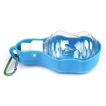 HYHY-O-O - Botella de Agua Portátil para Perro con Clip de plástico para Perro