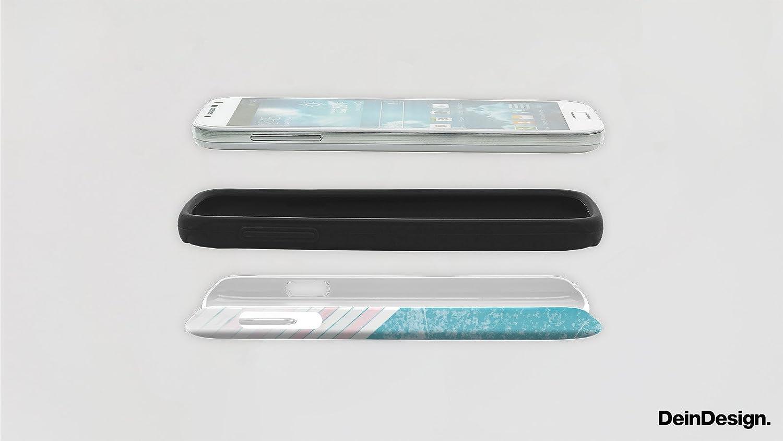 DeinDesign Outdoor H/ülle kompatibel mit Apple iPhone 8 Panzer Case Schutzh/ülle Sto/ßfest Fanartikel F95 Grau Mannschaft