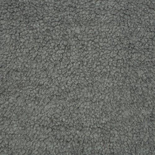 Shannon Fabrics 0519174 Shannon Sherpa Faux Fur Gray Fabric by The Yard,
