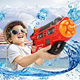 Pawaca Water Blaster Gun, 2000CC Moisture Capacity Water Gun Soaker Squirt Gun, Party and Outdoor Activity Water Fun Toys for Children and Adults