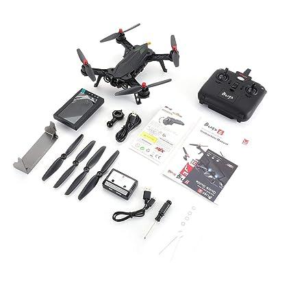 Fannty 6FD 2.4G RTF Drone con 5.8G 720P FPV Cámara RX Monitor RC ...