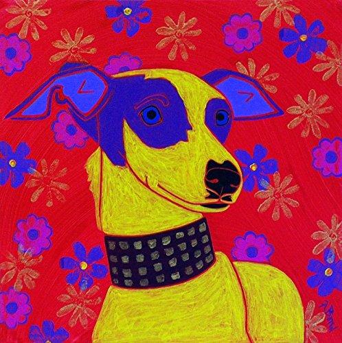 Dog Pop Art MATTED print 11