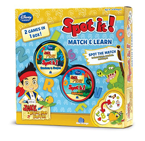 Asmodee Spot it: 2-in-1 Jake The Pirate