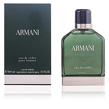 Giorgio Armani Armani Eau De Cedre Edt Spray 100ml34oz Amazonca