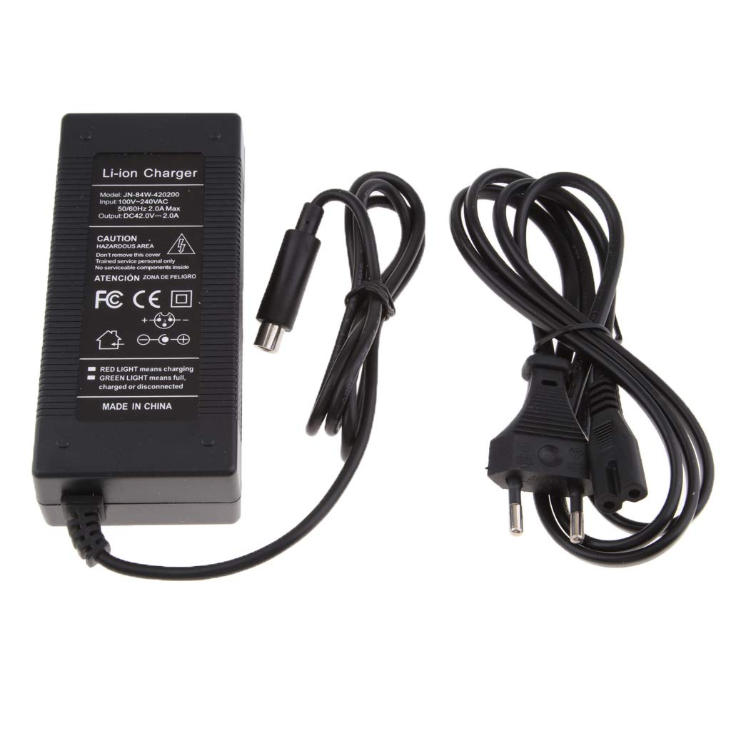 B Blesiya 42V 2A Battery Supply Recharger Compatible for Xiaomi Mijia M365 Electric Scooter