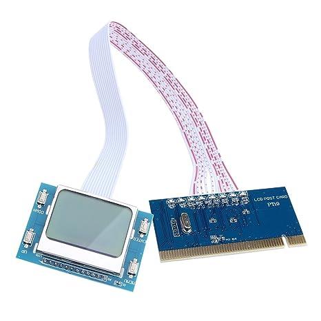alloet pantalla LCD PCI Analizador de Tarjeta de diagnóstico placa ...
