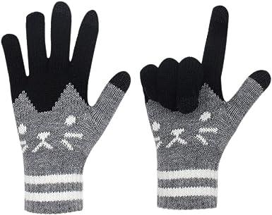 Winter Knit Gloves Touchscreen Warm Thermal Men Women Windproof Mittens Gloves