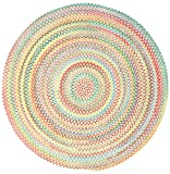 Capel Rugs Baby's Breath 2 ft. Round Braided Area Rug (Natural)