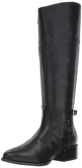 4fe294b6fbdd Amazon.com  Tommy Hilfiger Women s Mani Equestrian Boot  Shoes