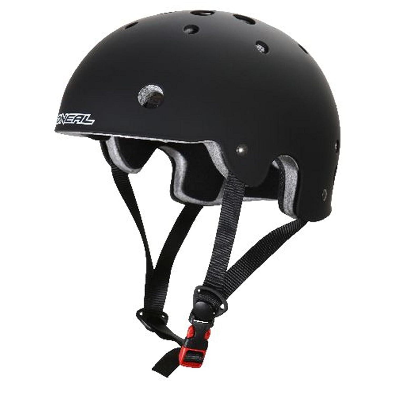 O'Neal Slash BMX Helm schwarz matt Urban Fahrrad Mountainbbike Inliner Skate MTB BMW Slopestyle, 0619-20, Größe Small (50-53 cm) O'Neal