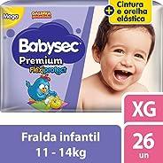 Fralda Galinha Pintadinha Premium, Babysec, XG, 26 Unidades