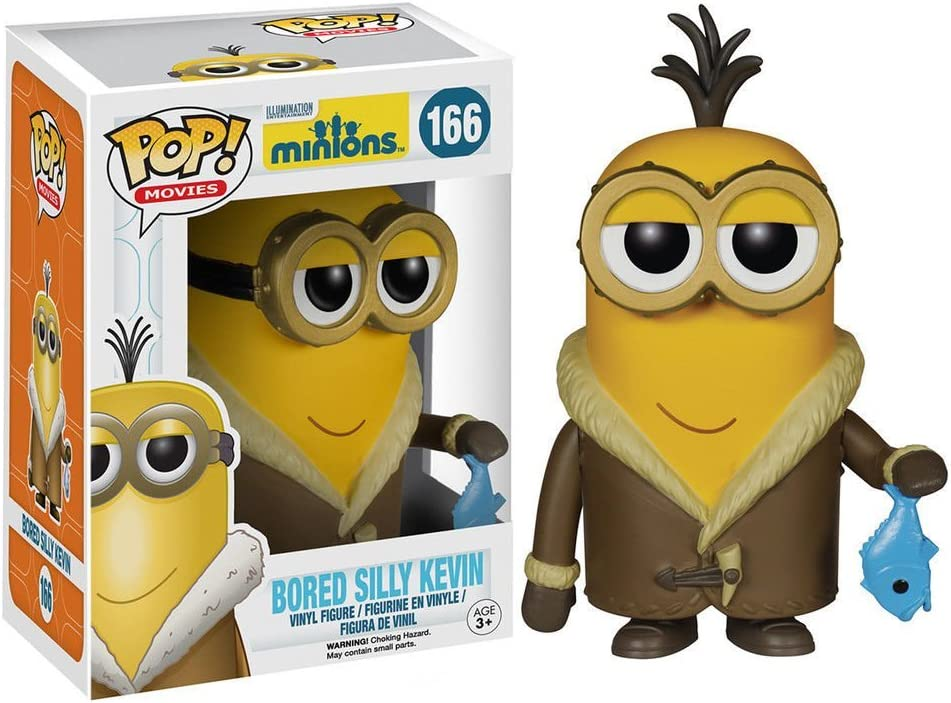 POP Movies Minions Bored Silly Kevin New In Box Funko