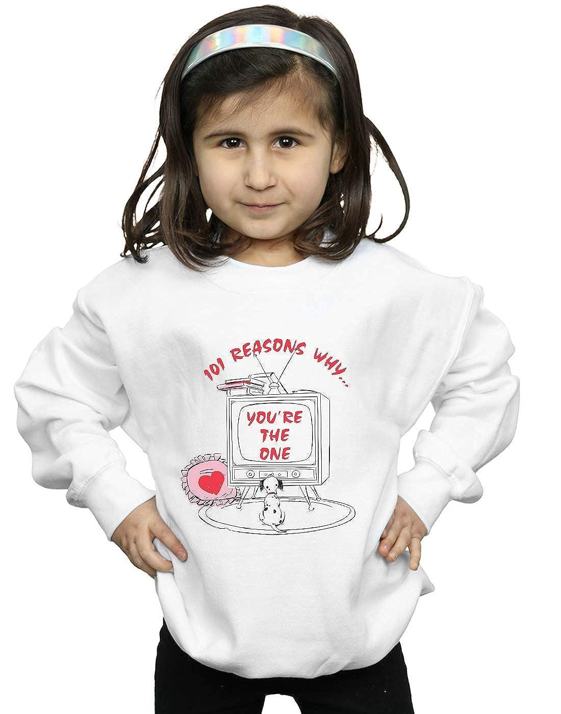 Disney Girls 101 Dalmatians TV Sweatshirt