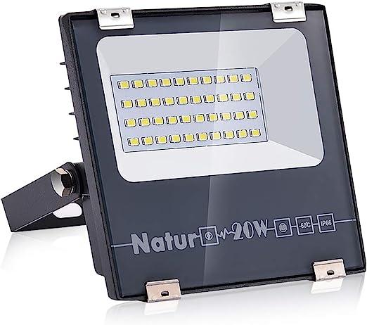 20W Foco LED Proyector, Super-Light Focos Led Exterior Floodlight ...