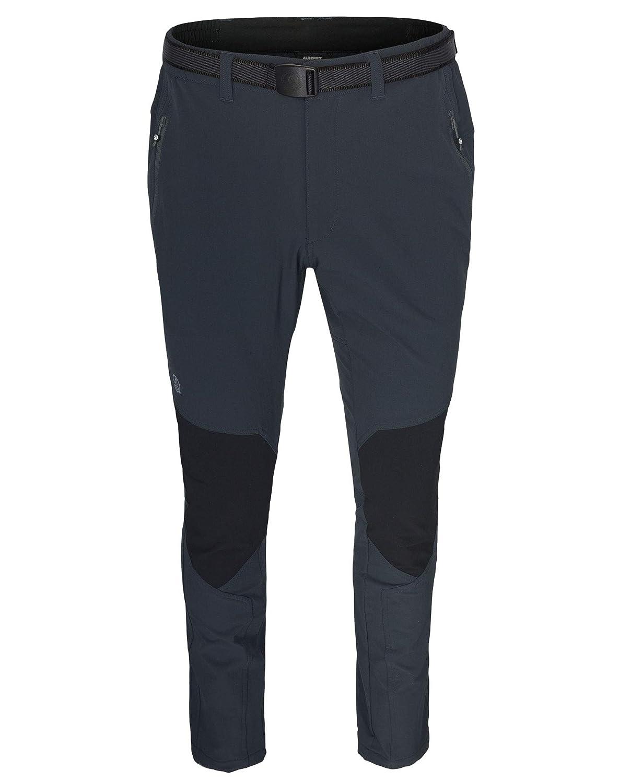 Ternua ® Corno Pantalón, Hombre, Gris (Whales Grey) / Negro, XL