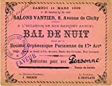 [Société Orphéonique Parisienne]: Original Ticket to a Ball