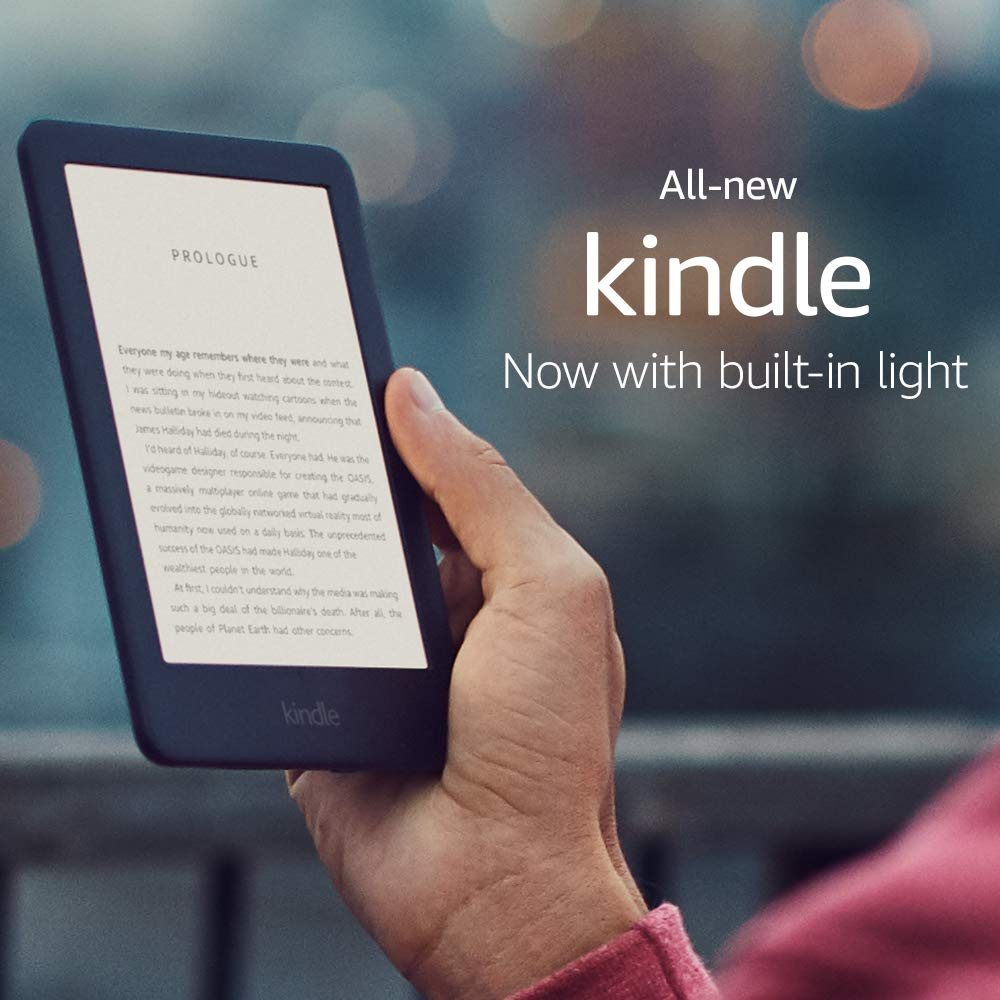 All-New Kindle (10th Gen), 6″ Display now with Built-in Light, 4 GB, Wi-Fi (Black)