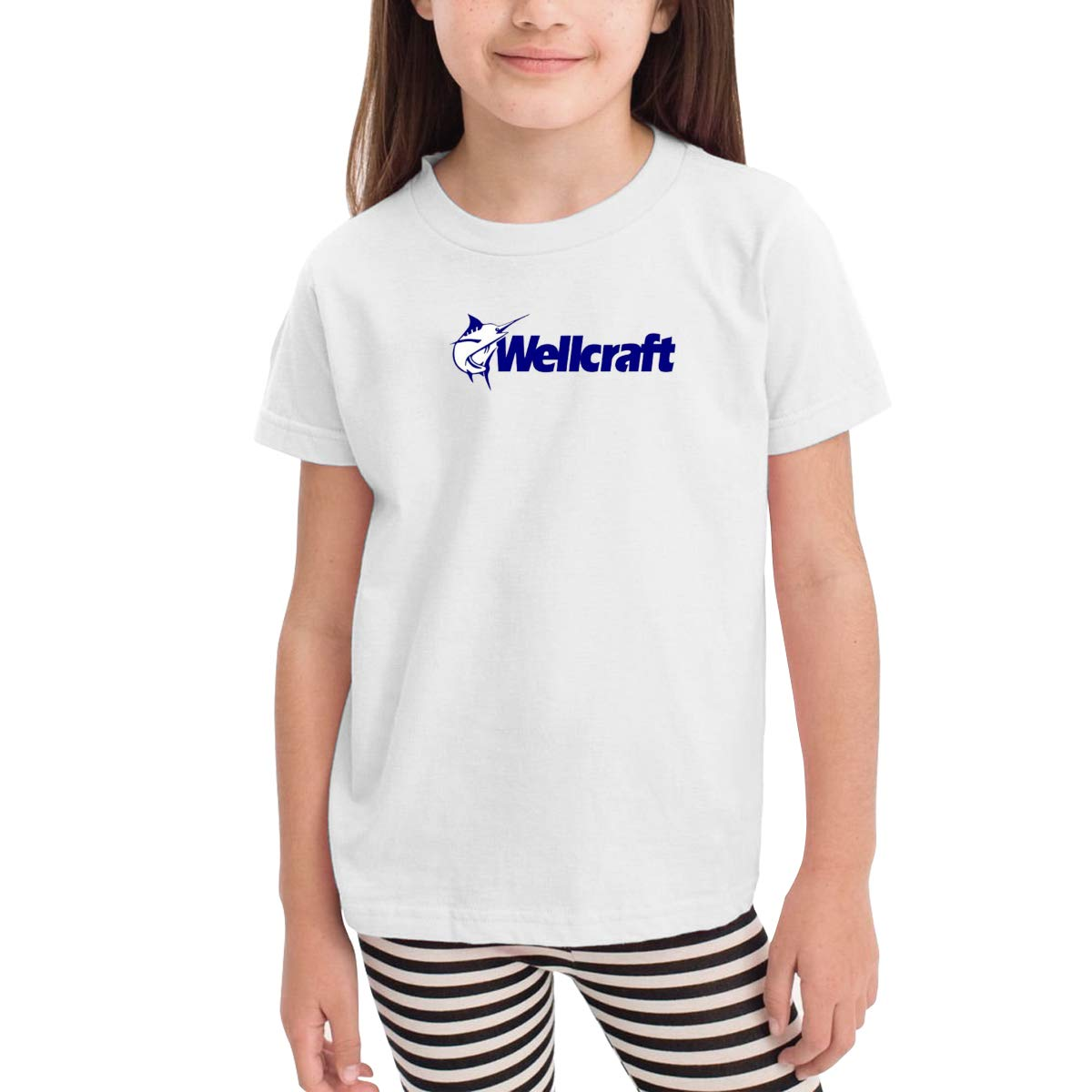 Onlybabycare Wellcraft Logo 100/% Cotton Toddler Baby Boys Girls Kids Short Sleeve T Shirt Top Tee Clothes 2-6 T