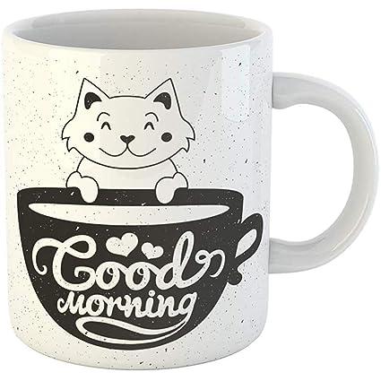 Amazon Com Coffee Tea Mug Gift 11 Ounces Funny Ceramic Cute Little