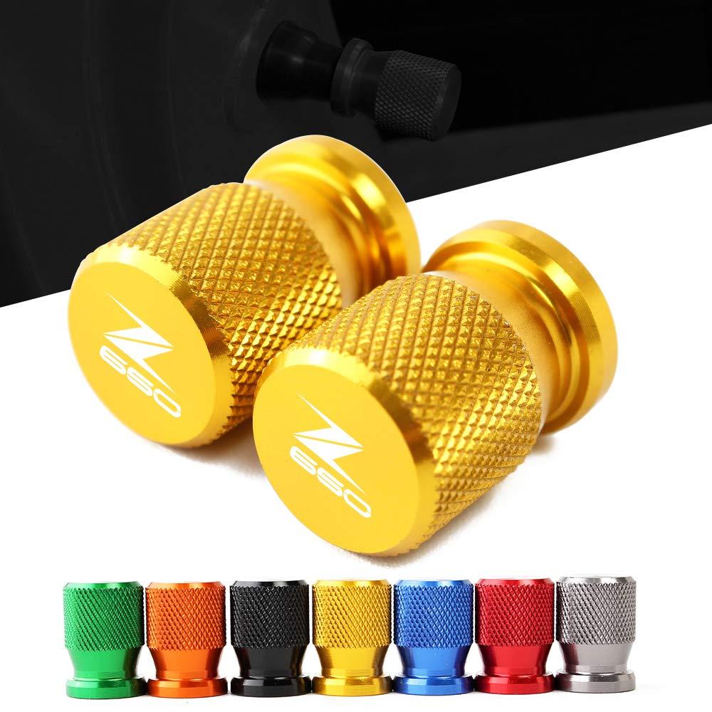 longyitrade 4 Pezzi Tappi per valvole dei Pneumatici in Alluminio