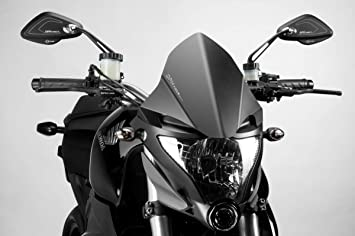 Kit Windscreen Warrior - Aluminum Windshield Fairing - 100/% Made in Italy Hardware Fasteners Included R-0690B De Pretto Moto Accessories DPM Race Hornet 600 2011//14