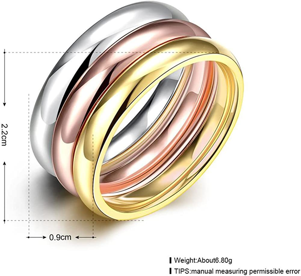 3mm Stackable Band Ring Sterling Silver Finger Ring R12