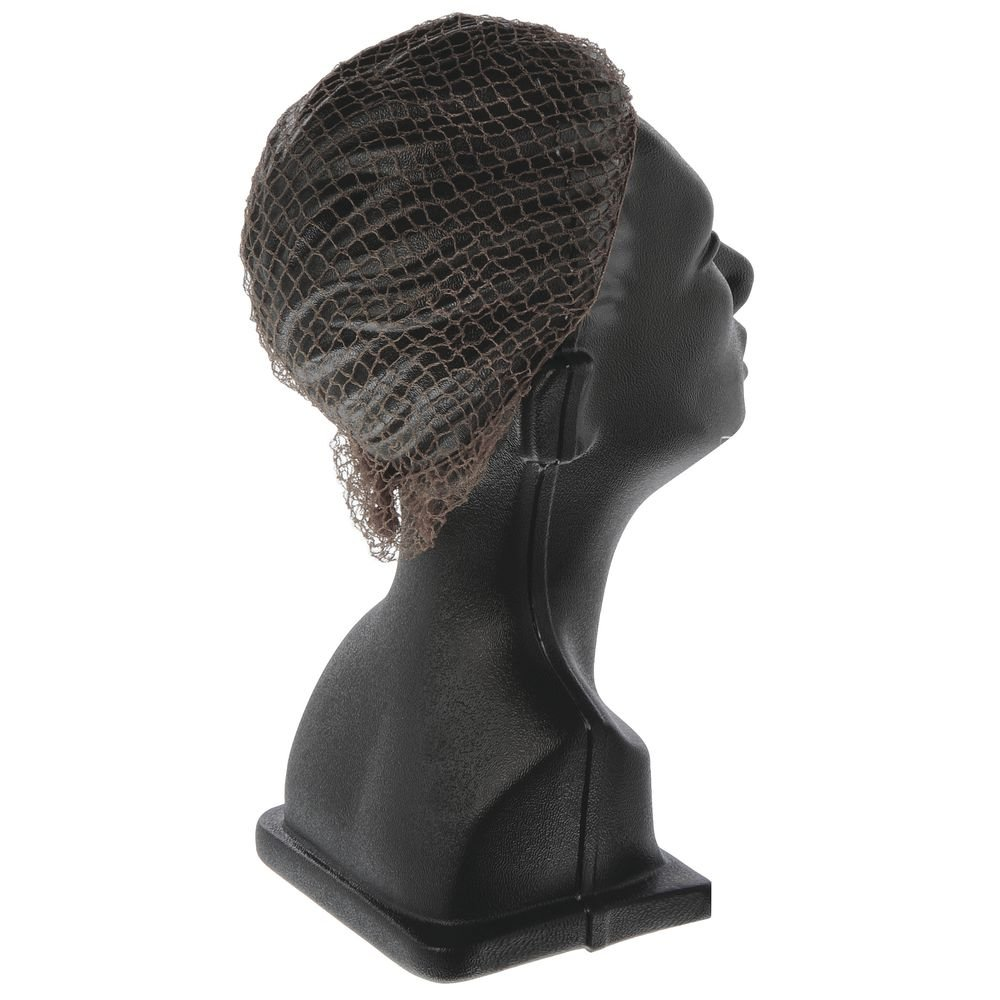 Cellucap Dark Brown Nylon Heavyweight Hair Net